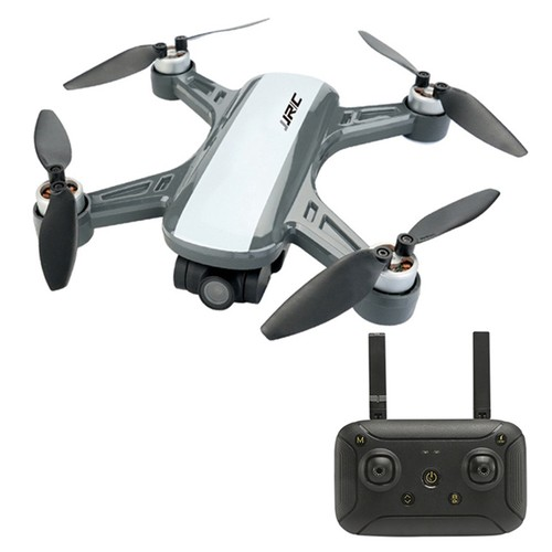 JJRC X9PS 4K 5G WIFI FPV Dual GPS RC Drone With 2-Axis Gimbal RTF - White Two Batteries with Bag